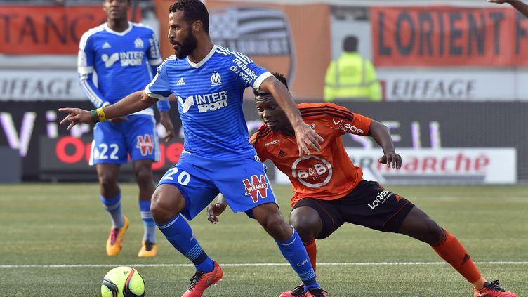 Jacques-Alaixys Romao devant Lamine Gassama (LOIC VENANCE / AFP)