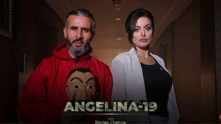 """Capture d'écran Youtube de l'émission """"Angelina-19"""" (CAPTURE D'ÉCRAN YOUTUBE)"""