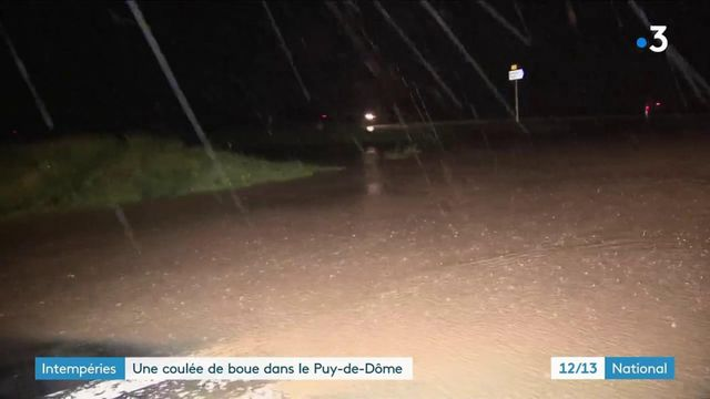 Puy-de-Dôme : le village de Sauvagnat-Sainte-Marthe terrassé par des coulées de boue