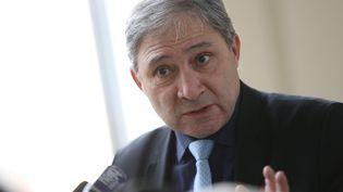 Le procureur de la République de Nice, Jean-Michel Prêtre, donne une conférence de presse le 19 janvier 2017 au palais de justice de Nice (Alpes-Maritimes). (VALERY HACHE / AFP)