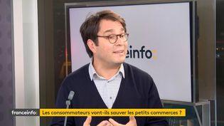 Vincent Chabault, sociologue, invité de franceinfo, lundi 16 novembre 2020. (FRANCEINFO)