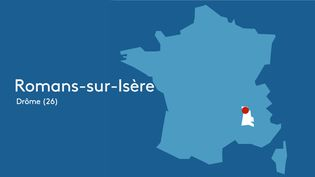 Romans-sur-Isère dans la Drôme (26) (FRANCEINFO / STEPHANIE BERLU)