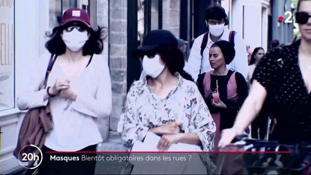 Coronavirus : le masque sera-t-il bientôt obligatoire dans les rues ?