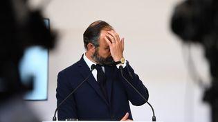 Edouard Philippe, le 7 mai 2020 à Paris. (CHRISTOPHE ARCHAMBAULT / POOL / AFP)