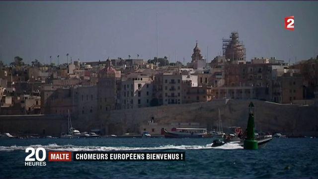 Malte accueille les chômeurs européens