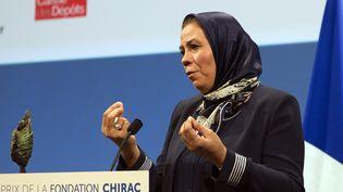 Latifa Ibn Ziaten, à Paris, le 19 novembre 2015. (JACQUES BRINON / AFP)