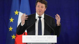 Le président de la région Provence-Alpes-Côte d'Azur, le 11 janvier 2017 à Nice (Alpes-Maritimes). (VALERY HACHE / AFP)