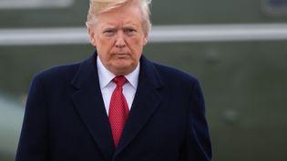 Le Président des États-Unis Donald Trump a passé les fêtes de fin d'année à la Maison Blanche. (SAUL LOEB / AFP)