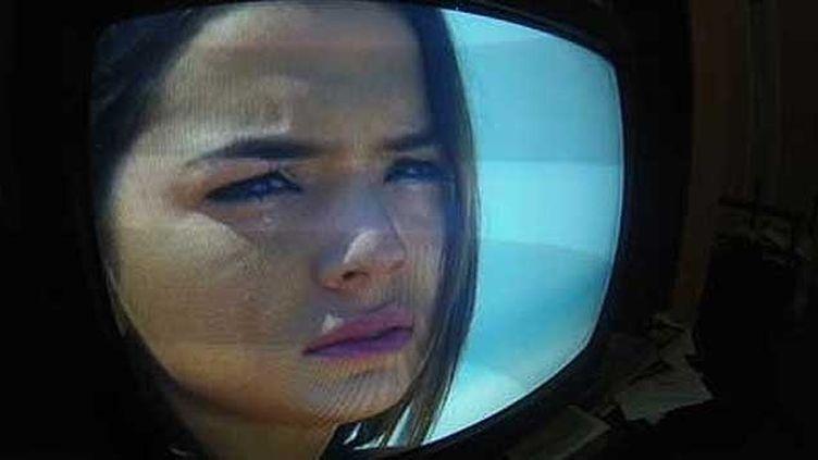 """(Bruna Marquezine, la star de la Telenovela """"Em familia"""", qui passe tous les soirs à 21h sur TV Globo © Radio France - Gabriel Massenot)"""