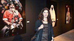 Leila Alaoui, en février 2015, lors d'une exposition à Beyrouth (Liban). (LEILA ALAOUI / TWITTER)