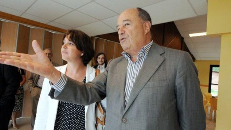 Jean-Michel Baylet tenait le 5 août une conférence de presse à Rennes pour sa première sortie en province comme candidat à la primaire socialiste. (afp)