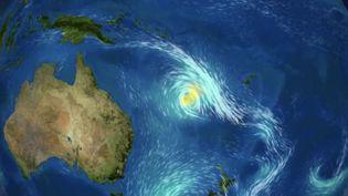Cyclone Niran : inquiétude en Nouvelle-Calédonie (FRANCE 2)