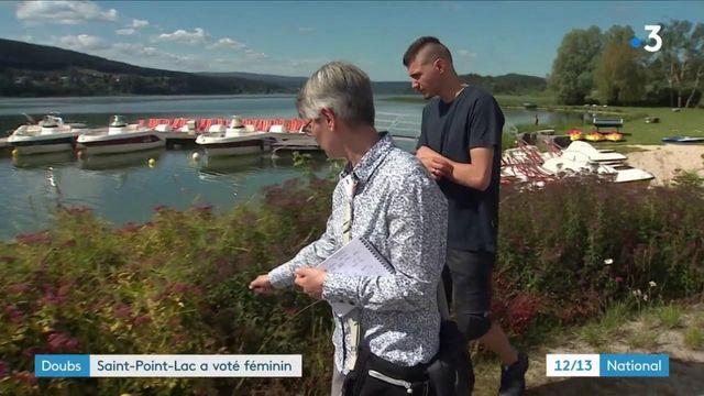 Doubs : Saint-Point-Lac a voté féminin