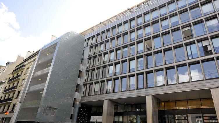 La faculté d'Assas à Paris, le 2 mai 2017. (SERGE ATTAL / ONLY FRANCE / AFP)