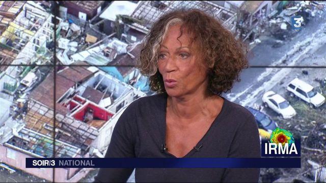 """Ouragans : """"il faut inventer des stratégies de survie"""", selon Marijosé Alie"""