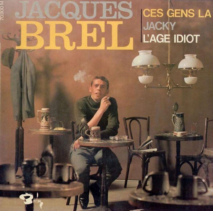 """Le Maxi """"Ces gens-là"""" de Jacques Brel, sorti en 1966  (Barclay)"""