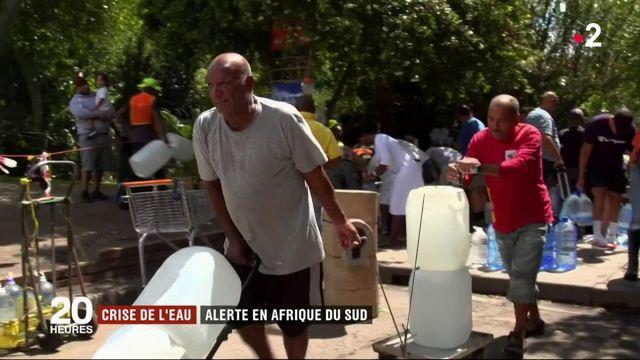 Crise de l'eau : alerte en Afrique du Sud