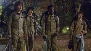 La série Stranger Things, qui mêle esprit rétro et univers fantastique, avait fait sensasion durant l'été 2016.  (Netflix)