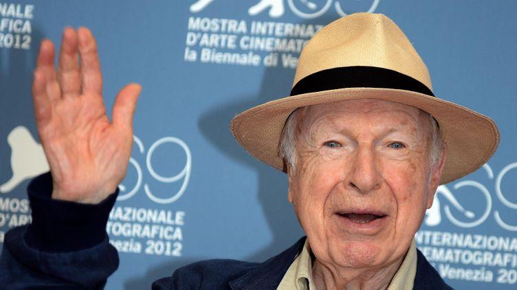 (Peter Brook revient au théâtre des bouffes du nord - le 5 septembre 2012  au Festival du film de Venise © Maxppp)
