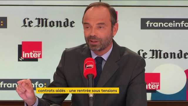 Edouard Philippe sur les emplois aidés