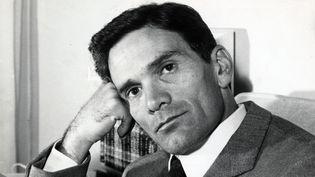 Pier Paolo Pasolini, Rome (1969)  (BM Lyon, fonds Michel Chomarat)