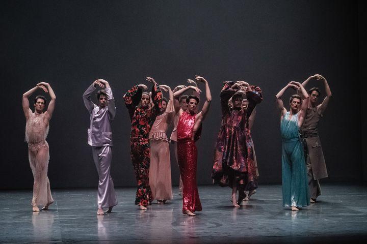"""""""The Male Dancer"""" de Ivan Pérez (Agathe Poupeney/Opéra national de Paris)"""