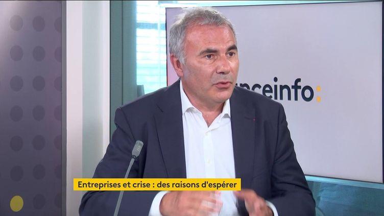 Pierre Pelouzet, médiateur national des entreprises (14 juin 2021). (FRANCE INFO / RADIOFRANCE)