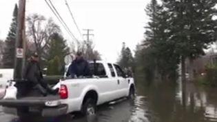 Au Canada, les villes d'Ottawa et Montréal ont décrété l'état d'urgence après la rapide montée des eaux dans le pays. Les inondations inquiètent la population, alors que de nouvelles pluies sont attendues ce week-end. (CAPTURE D'ÉCRAN FRANCE 3)