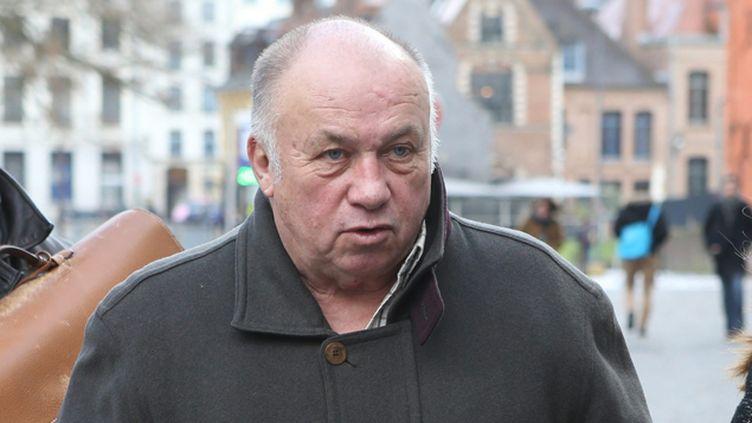 (Dominique Alderweireld, dit Dodo la saumure, est entré en scène ce jeudi au tribunal de Lille © MaxPPP)