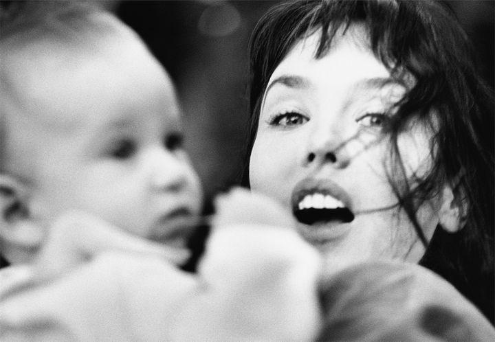 Isabelle Adjani et son fils Gabriel Kane Day Levis  (Dominique Issermann)