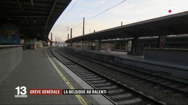 Belgique : une grève générale paralyse le pays