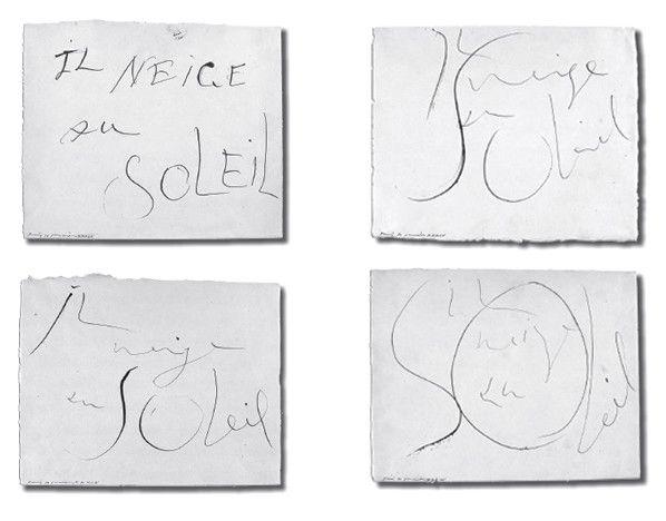 Pablo Picasso, Il neige au soleil, 1934, Paris, Musée Picasso  (© Succession Picasso 2012)