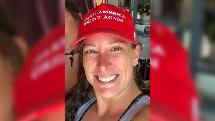 Ashli Babbitt, la femme abattue par un policier dans le Capitole, à Washington, le 6 janvier 2021. (ASHLI BABBITT / TWITTER)