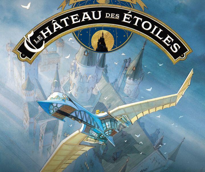 """Affiche de l'exposition """"Le château des étoiles"""", Alex Alice (Rue de Sèvres)  (Alex Alice / Rue de Sèvres)"""