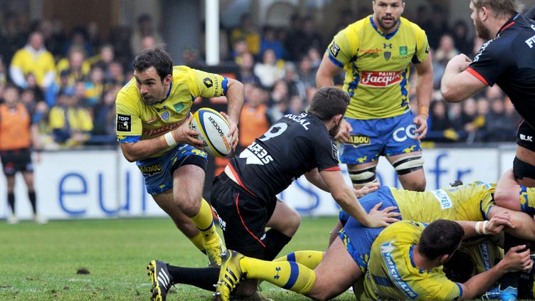 Morgan Parra (Clermont) (THIERRY ZOCCOLAN / AFP)