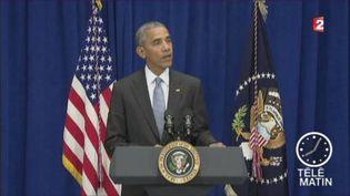 Barack Obama, président des États-Unis. (FRANCE 2)