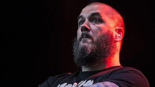 Le chanteur de metal Philip Anselmo  (Gian Ehrenzeller / EPA / MAXPPP)