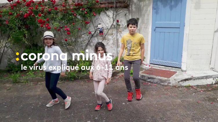 Clin d'oeil à la chanson d'Aldebert Corona Minus, une rencontre entre des scientifiqueset des enfants s'est déroulée à Rennes (France 3 Bretagne)