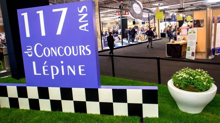 L'entrée du Concours Lépine, à la Foire de Paris, le 27 avril. (MAXPPP)