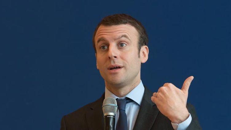 (Emmanuel Macron s'est exprimé dans le Financial Times © WITT/SIPA)