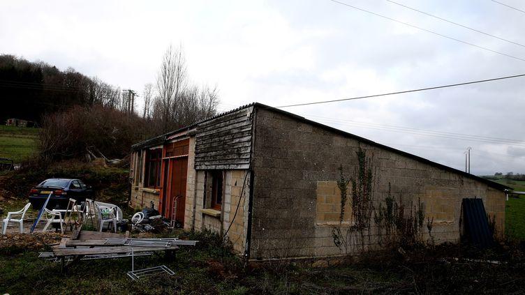 La maison de Michel Fourniret àFloing, près de Sedan (Ardennes), le 19 décembre 2018. (FRANCOIS NASCIMBENI / AFP)