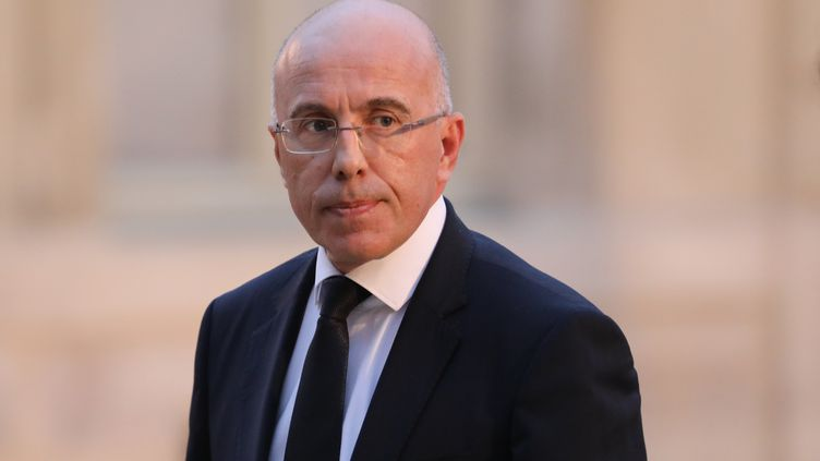Le député LR, Éric Ciotti, le 3 janvier 2018. (LUDOVIC MARIN / AFP)