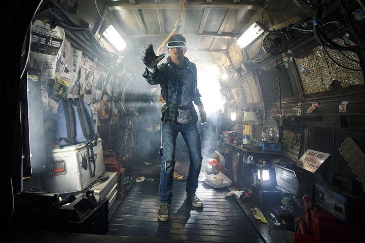 """Tye Sheridan, dans """"Ready Player One"""", de Steven Spielberg. (WARNER BROS.)"""