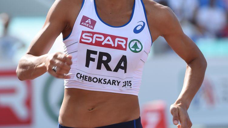L'athlète tricolore spécialiste du 800m Renelle Lamotte (STEPHANE KEMPINAIRE / STEPHANE KEMPINAIRE)
