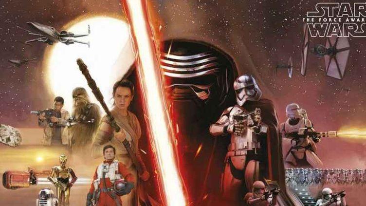 """Affiche de """"Star Wars, le réveil de la Force""""  (Lucasfilm / Disney )"""