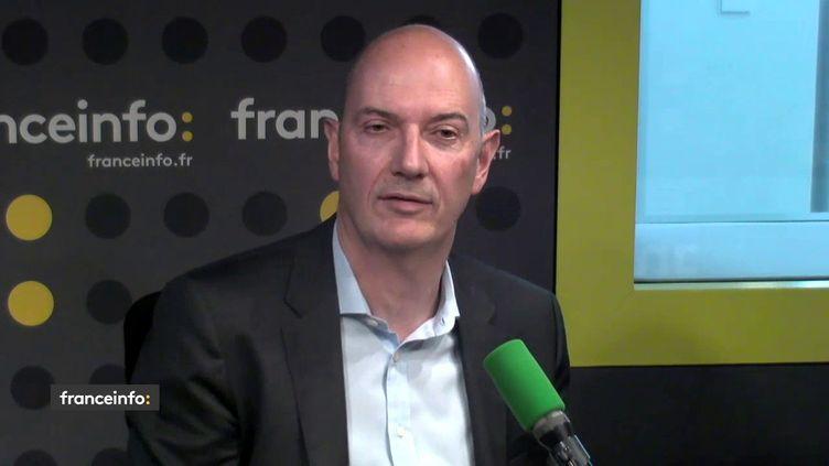 Roland Lescure, député LREM, sur franceinfo le 15 juin 2018. (FRANCEINFO / RADIOFRANCE)