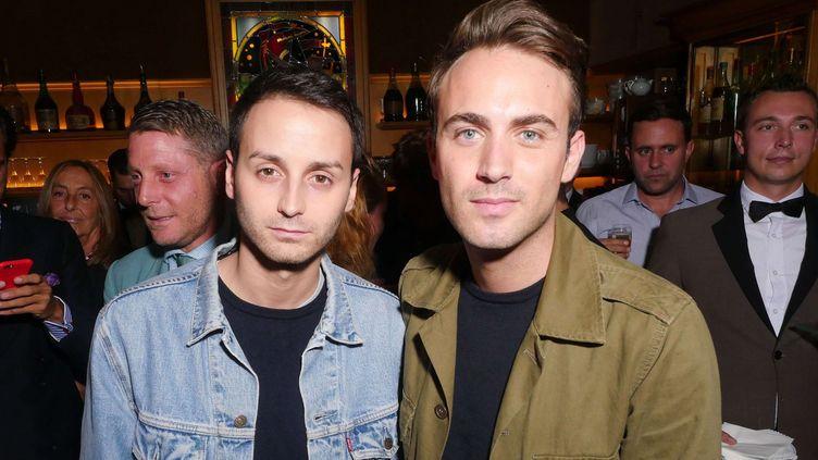 Les créateursSébastien Meyer et Arnaud Vaillant lors de la Paris Fashion Week en septembre 2016.  (Swan Gallet/WWD/REX/Shutterstock )