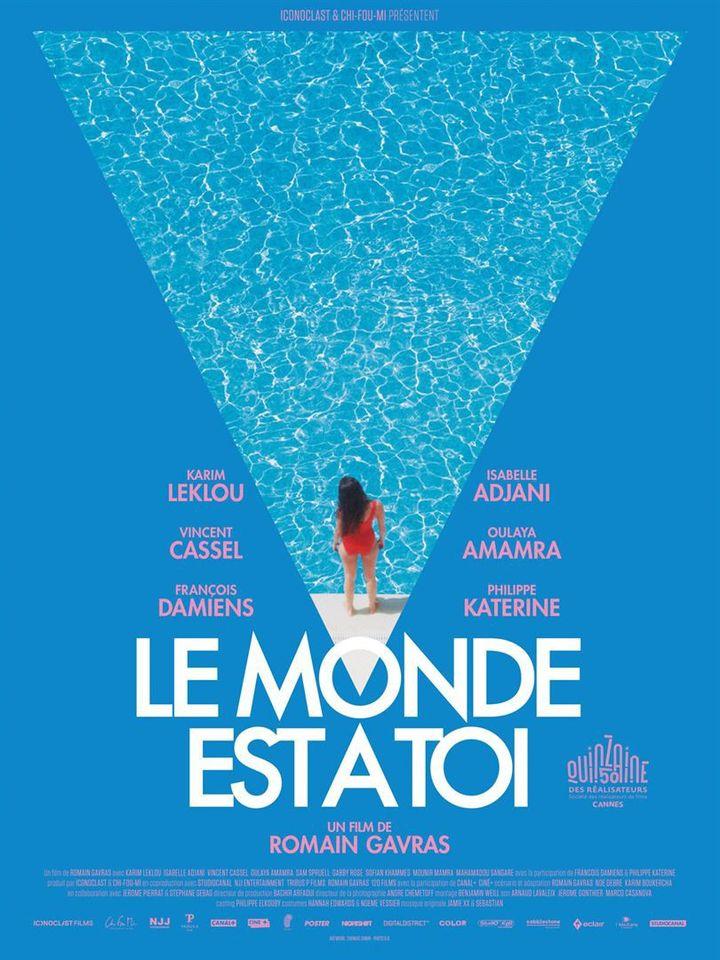 """L'affiche de """"Le monde est à toi""""  ( Studio Canal)"""