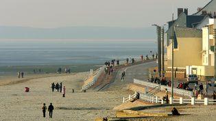 La plage du Crotoy, en baie de Somme. (PHILIPPE HUGUEN / AFP PHOTO)