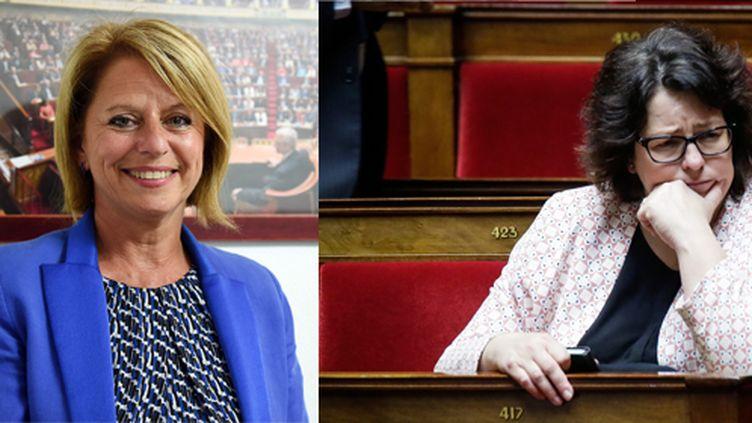"""Brigitte Bourguignon (à gauche) et Sophie Errante (à droite), deux ex-socialistes devenues """"marcheuses"""". (MAXPPP)"""